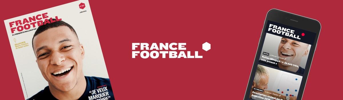 bandeau F Foot - France Football