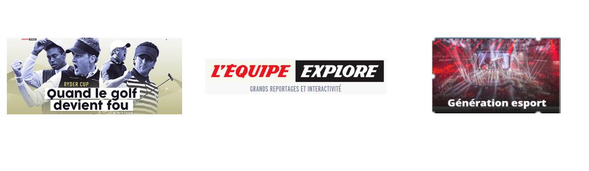 Bannière Offre Explore - Offre L'Equipe Explore