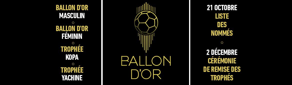 Bandeau home AM offres classques BO - Ballon d'Or 2019 offres classiques