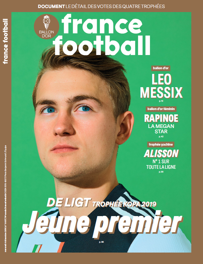 FF UNE 051219 De Ligt - Ballon d'Or 2019