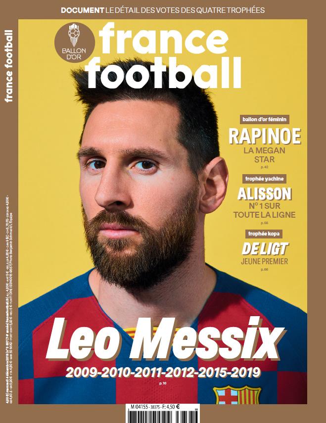 FF UNE 051219 Messi - Ballon d'Or 2019