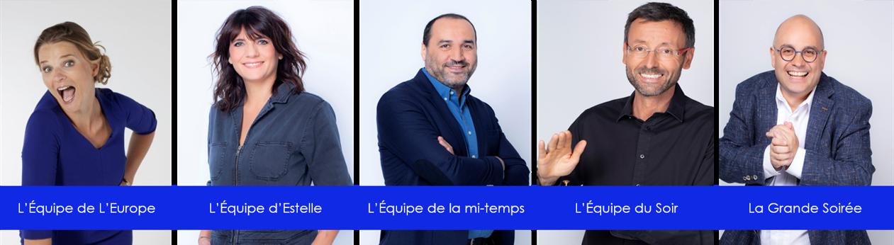 Bandeau dispositifs LEquipe TV - CHAMPIONNAT D'EUROPE DE FOOTBALL 2021