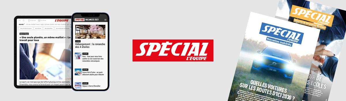 bandeau - Label Spécial L'Equipe